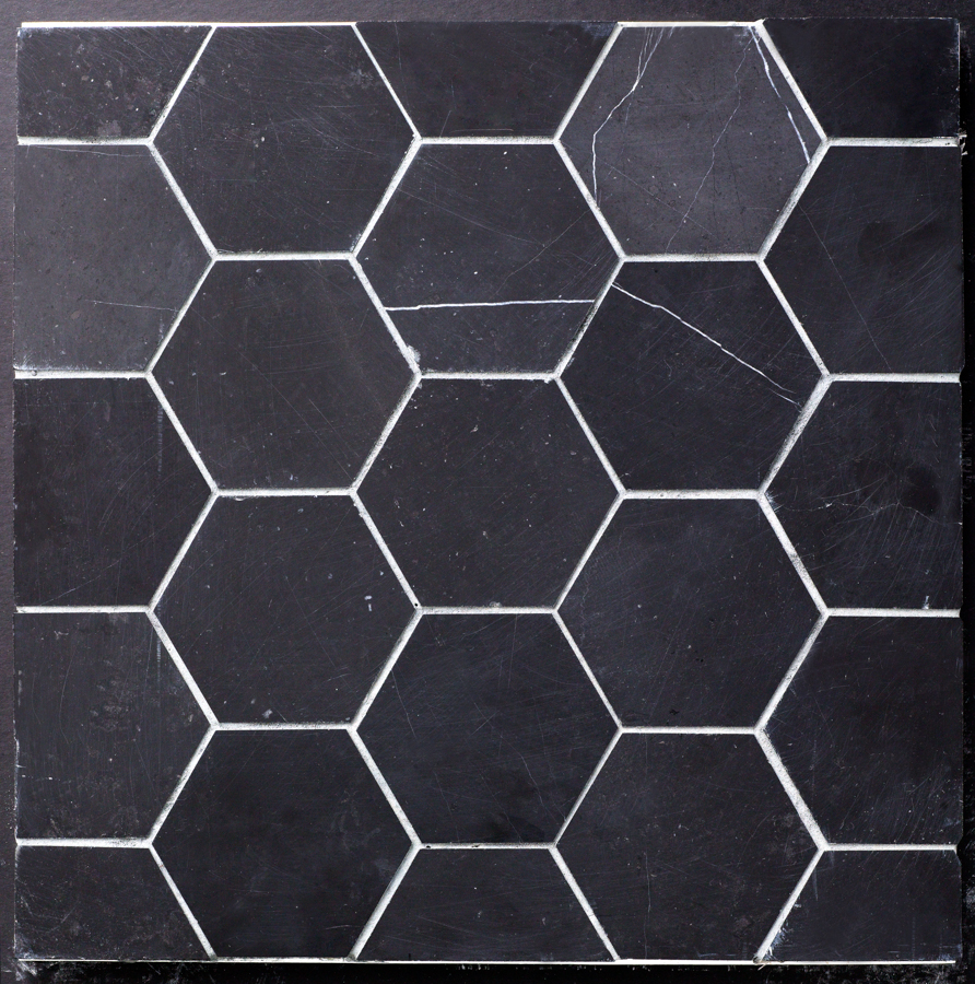 Beltile Eastern Black Marble Hexagon 4 Quot Honed 4