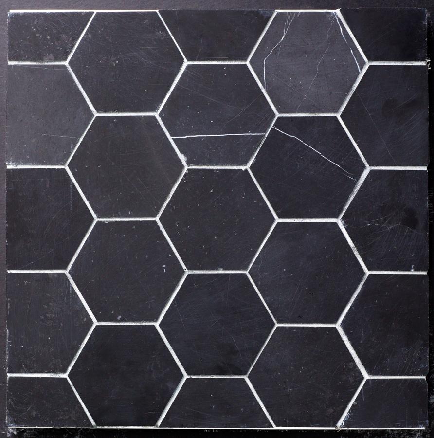 Beltile Eastern Black Marble Hexagon 4 Quot Honed 4