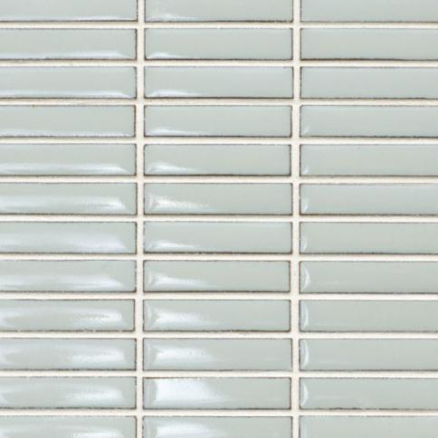 Beltile Light Grey Stacked Mini Rectangles Glazed